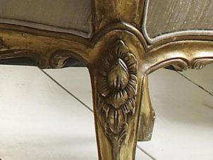 Gold Leaf Versailles 2 Seater Settee