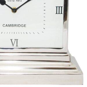 McLaughlin & Scott Latham Small Aluminium Rectangular Clock