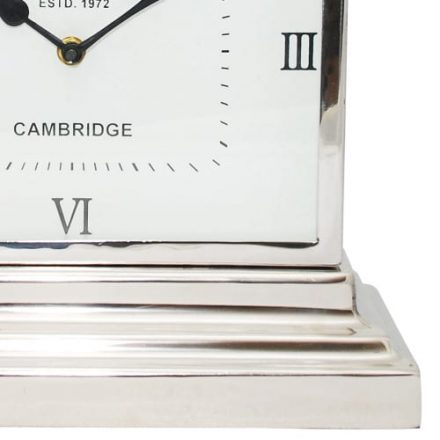 McLaughlin & Scott Latham Small Aluminium Rectangular Clock