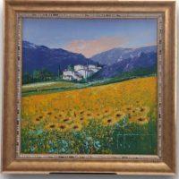 John Horsewell - Summer Days - Original Acrylic on Canvas