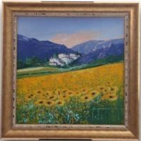 Original Oil Painting - 'Summer Days 2' By John Horsewell