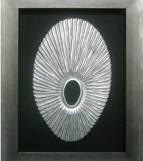 Shadow Box Wall Art shadow box wall art oval shaped carving - womacks of bawtry