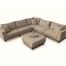 Ego Corner Garden Sofa Set - The All Weather Fabric Sofa - TAUPE