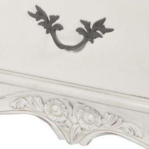 Sideboard - Carved French Design - 2 Door 3 Drawer - Antique White Range