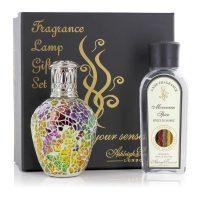Fragrance Lamp - Premium Boxed Gift Set - Moroccan Spice Room Fragrance