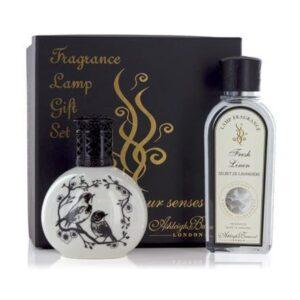 Fragrance Lamp - Premium Gift Set - Fresh Linen Room Fragrance