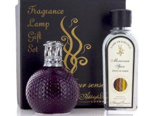 Fragrance Lamp - Premium Gift Set - Moroccan Spice Room Fragrance