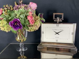 Mantel Clock - 'Sir William & Smith' Clock Co - Roman Numerals