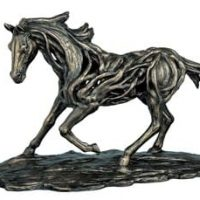Large Horse Statue in Motion