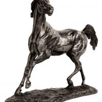 Cold Cast Bronze Statue - Running Stallion