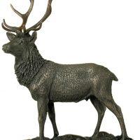 Cold Cast Bronze Statue - Magnificent Stag