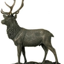 Cold Cast Bronze Statue - Magnificent Stag