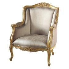 Versailles Library Gilt Chair