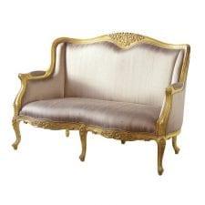 Versailles Gilt 2 Seater Settee