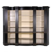 Bookcase - Extra Large Open Front Design - 5 Shelves - French Black Range