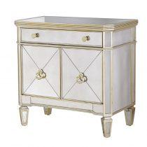 Cabinet - 2 Door - 1 Drawer Mirrored Cabinet - Antique Mirrored Range