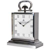 Mantel Clock -Bond Street London Clock Co - Chrome Mantel Clock