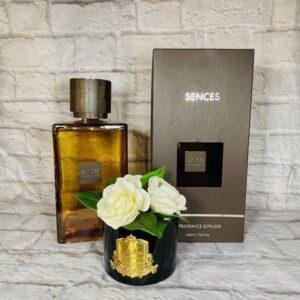 'Ylang Ylang' Large Reed Diffuser - Amber Glass Bottle - 2200ml