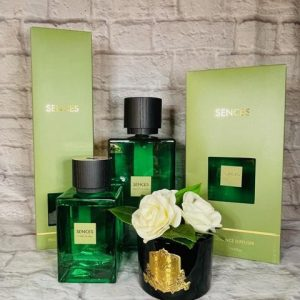 'Ylang Ylang Citrus Verbena' Reed Diffuser - Large Green Glass Bottle - 2200ml