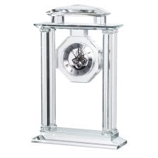 Solid Crystal Mantel Clock