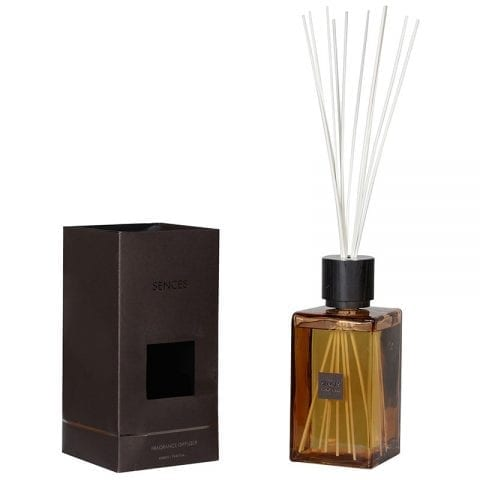 Ylang Ylang & Amber - Extra Large Amber Glass Reed Diffuser - 2200ml