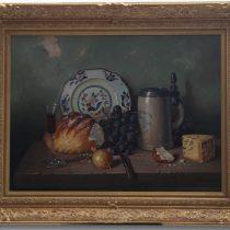 A G Bubarnik 'Still Life' Original Oil Painting