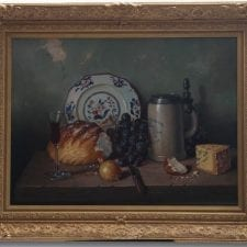A G Bubarnik 'Still Life' Original Oil Painting