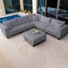 Ego Sofa Set - The All Weather Fabric Sofa - GREY