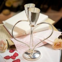 Entwined Heart 'Lovers' Champagne Flutes - Culinary Concepts
