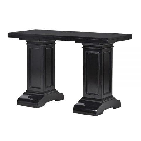 Kensington Column Leg Black Console Table