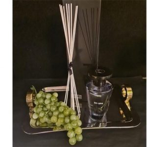 'So Spa' Reed Diffuser - Shaped Glass Bottle - Gift Boxed - 300ml