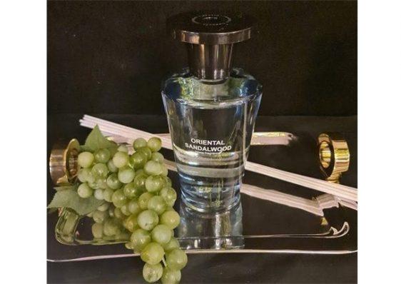 'Oriental Sandalwood' Reed Diffuser - Large Glass Bottle - 1000ml