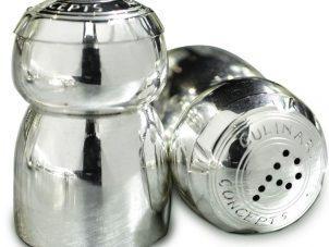 Champagne Cork Salt & Pepper Set - Culinary Concepts