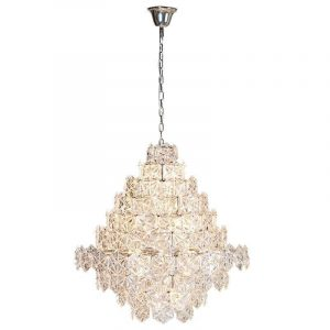 Multi Layer Crystal Design Chandelier