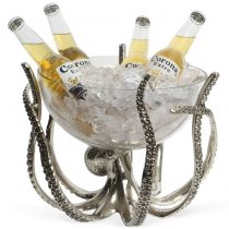 Octopus Stand & Glass Bowl Wine Cooler - Culinary Concepts