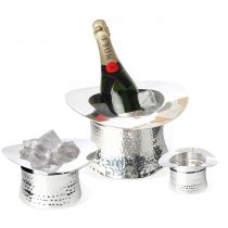 Top Hat Wine Cooler Ice Bucket & Nibbles Bowl Set - Culinary Concepts