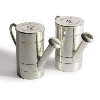 Silver Plated Watering Can Salt & Pepper Set