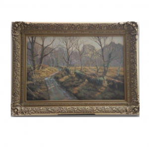 Original Oil Painting - 'September Morning' By Tony Wooding