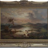 Prudence Turner 'Scottish Highlands' Original Oil Painting