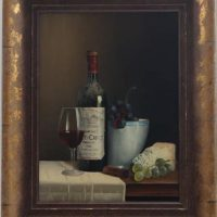 Peter Kotka 'Wine Selection 2' Original Oil Painting