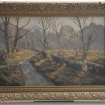 Tony Wooding 'September Morning' Original Oil Painting