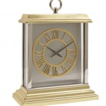 Jermyn Brass McLaughlin & Scott Mantel Clock - Roman Numerals