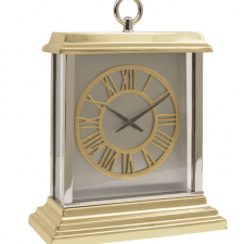 Jermyn Brass McLaughlin & Scott Mantel Clock - Roman Numerals