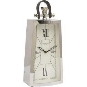 Mantel Clock - McLaughlin & Scott Clock Co - Tall - Chrome