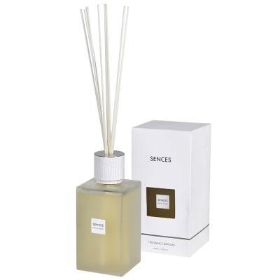 'Cashmere Cotton' Reed Diffuser - Extra Large Frosted Glass Bottle - 2200ml