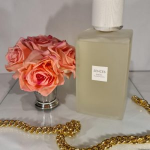 'Cashmere Cotton' Reed Diffuser - Large Frosted Glass Bottle - 2200ml