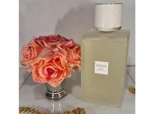 'Cashmere Cotton' Large Reed Diffuser - Frosted Glass Bottle - 2200ml
