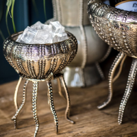 Small Metal Jelly Fish Shaped Bowl - Culinary Concepts