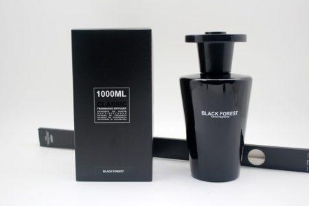 Black Forest Fragrance - Large Glass Bottle Reed Diffuser -1000ml