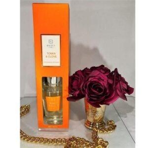 Tonka & Clove Reed Diffuser - Shaped Glass Bottle - 300ml